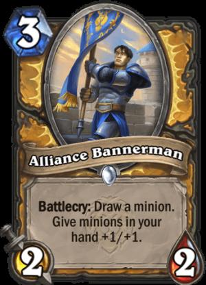 Alliance Bannerman Card