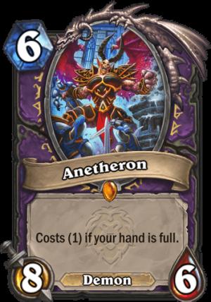 Anetheron Card
