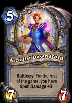 Arcanist Dawngrasp Card