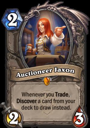 Auctioneer Jaxon Card
