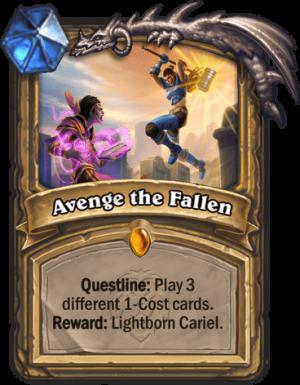 Avenge the Fallen Card