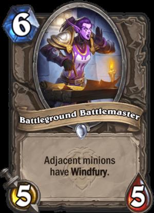 Battleground Battlemaster Card