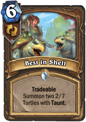 Best in Shell Card