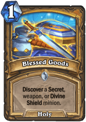Blessed Goods Card