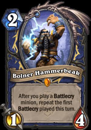 Bolner Hammerbeak Card