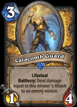 Catacomb Guard Card