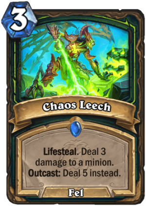 Chaos Leech Card
