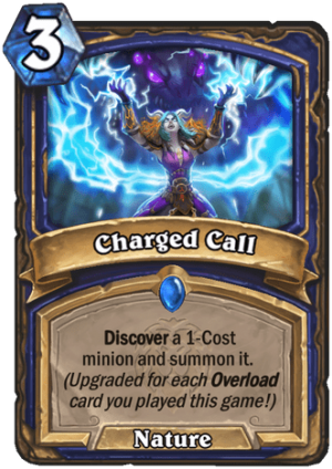 Charged Call Card
