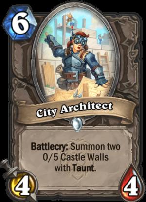 City Architect Card