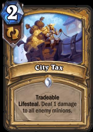 City Tax Card