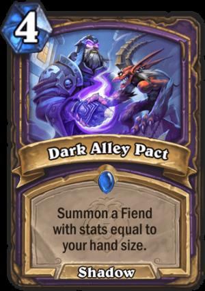 Dark Alley Pact Card