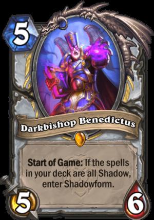 Darkbishop Benedictus Card