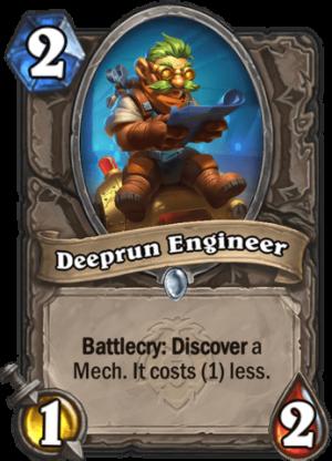 Deeprun Engineer Card