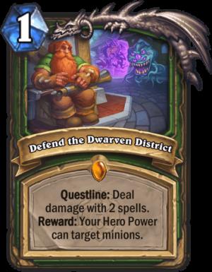 Defend the Dwarven District Card