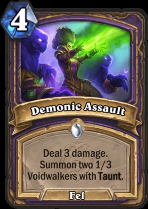 Demonic Assault Card