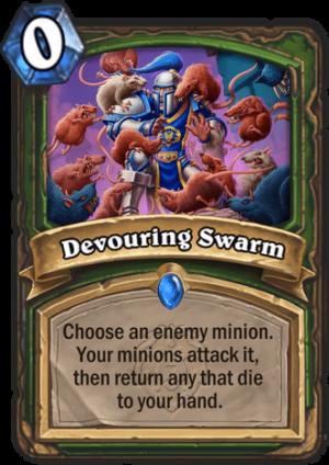 Devouring Swarm Card