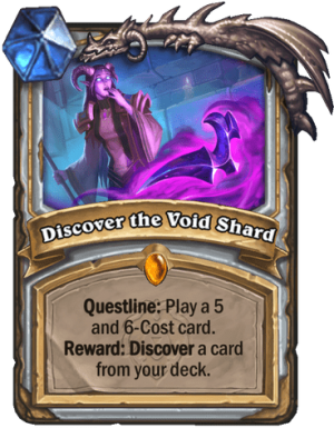Discover the Void Shard Card