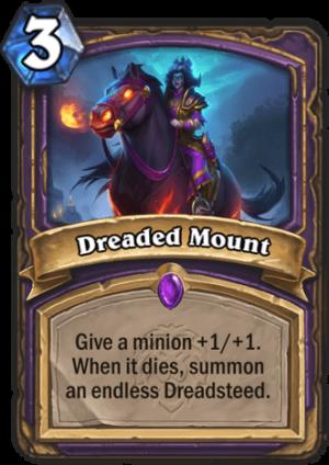 Dreaded Mount Card