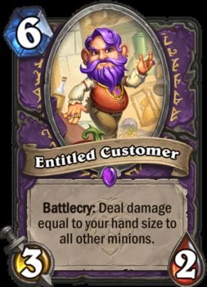 Entitled Customer Card