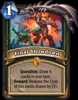 Final Showdown Card