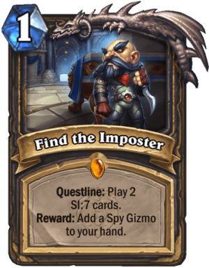 Find the Imposter Card