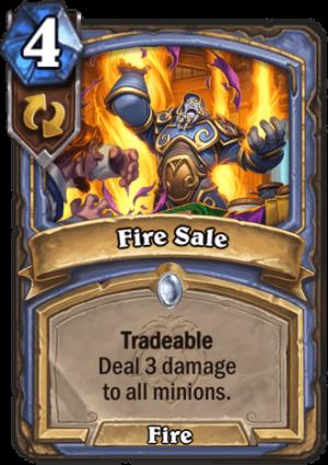 Fire Sale Card