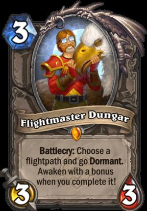 Flightmaster Dungar Card