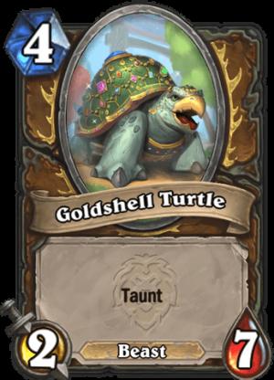 Goldshell Turtle Card