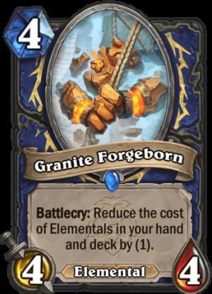 Granite Forgeborn Card