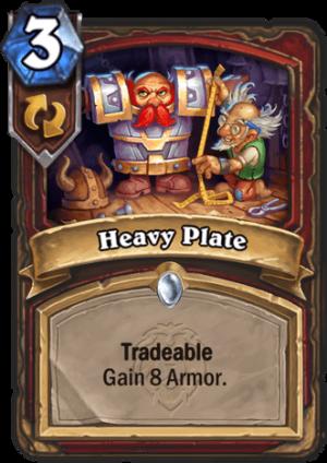 Heavy Plate Card