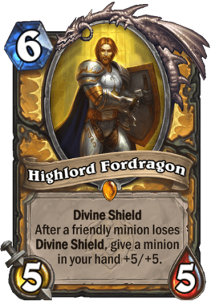 Highlord Fordragon Card