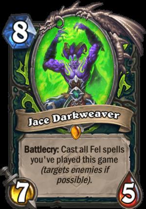 Jace Darkweaver Card