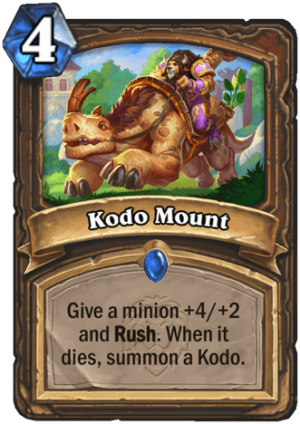 Kodo Mount Card