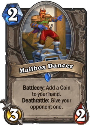 Mailbox Dancer Card
