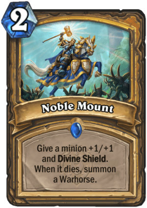 Noble Mount Card