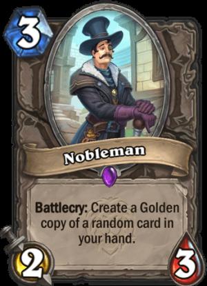 Nobleman Card