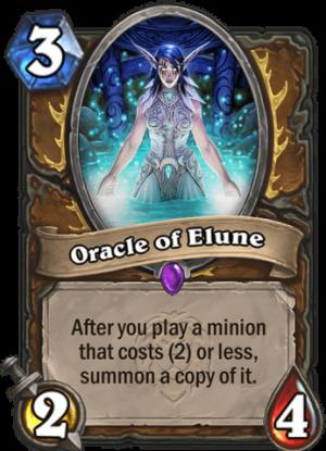 Oracle of Elune Card