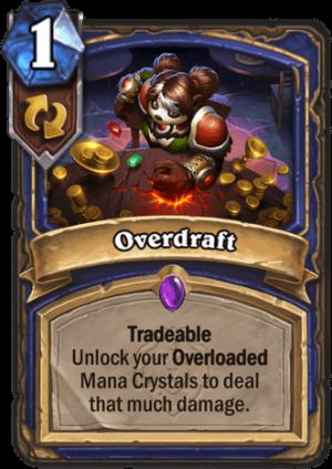Overdraft Card