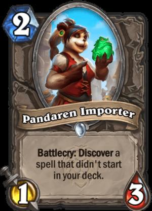 Pandaren Importer Card