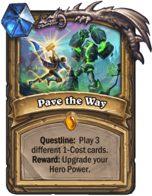Pave the Way Card