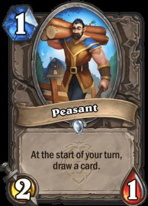 Peasant Card