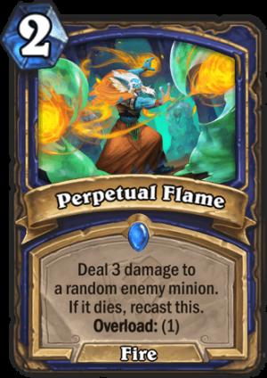 Perpetual Flame Card