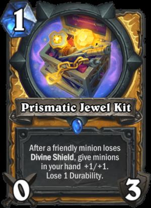 Prismatic Jewel Kit Card