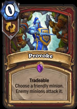 Provoke Card