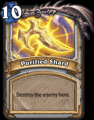 Purified Shard Card