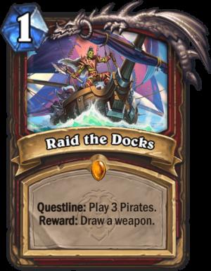 Raid the Docks Card
