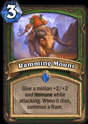Ramming Mount Card