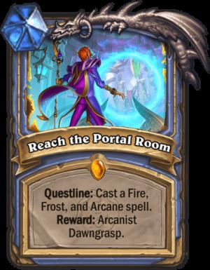 Reach the Portal Room Card