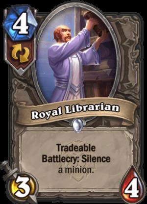 Royal Librarian Card