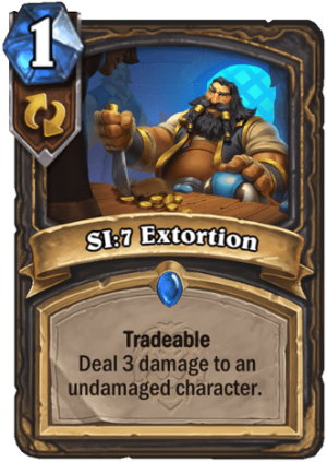 SI:7 Extortion Card